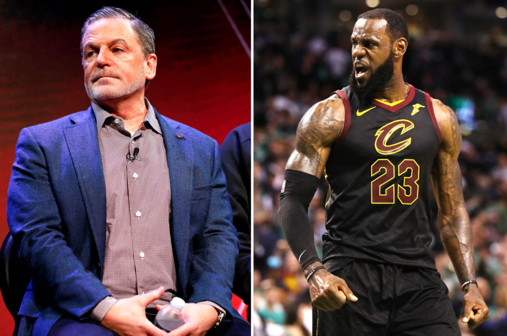 lebron james dan gilbert