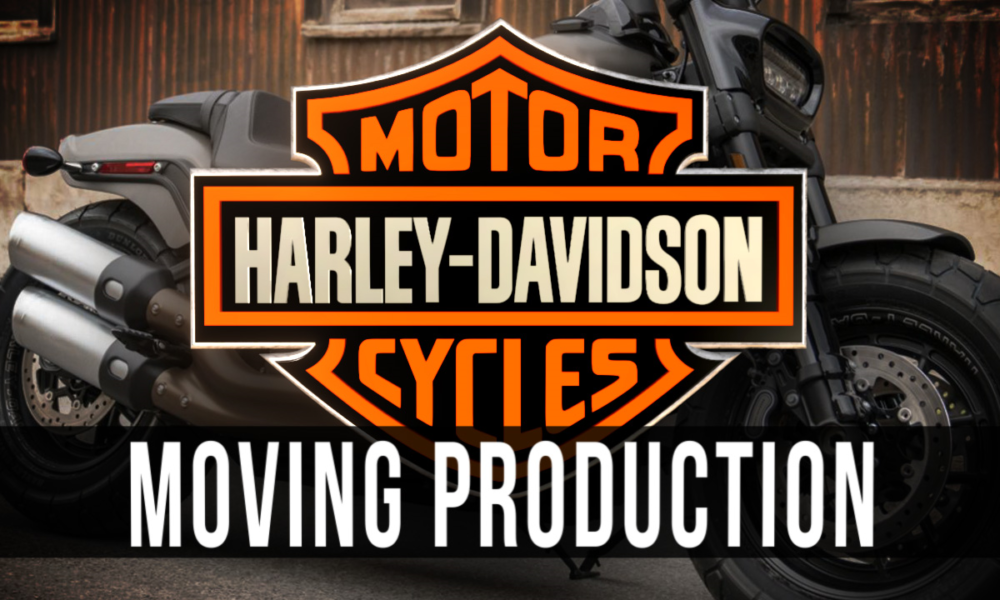 Harley Davidson is Moving to Europe – Trump Trying to Stop